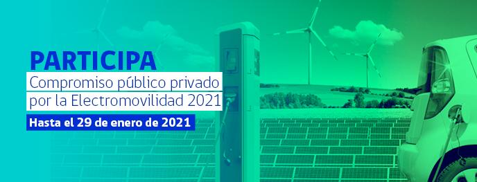 Compromiso público privado por la Electromovilidad 2021