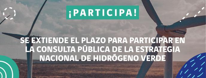 Participación consulta pública de la estrategia nacional de hidrógeno verde