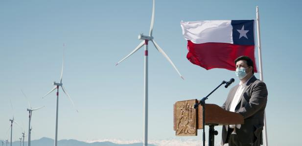 Autoridades inauguran Parque Eólico La Estrella de la empresa Opdenergy que inyecta energía de manera importante al Sist...