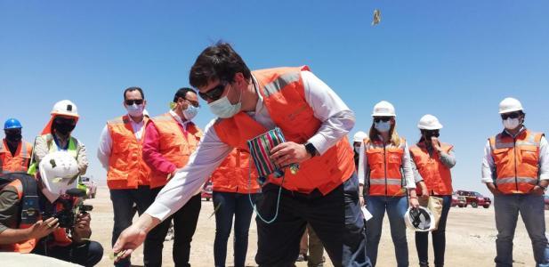 Reactivación económica de la región de Antofagasta:  Subsecretario de energía y autoridades regionales visitan parque e...