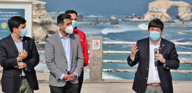 Energía y Bienes Nacionales anuncian más de 20 mil hectáreas fiscales para el desarrollo de energías renovables en Antof...