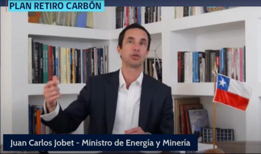 """Ministro Juan Carlos Jobet tras histórico anuncio de cierre adelantado de centrales a carbón: """"ESTE NUEVO HITO NOS ACERCA CADA VEZ MÁS A HACER DE CHILE UN PAÍS DE ENERGÍAS LIMPIAS"""""""