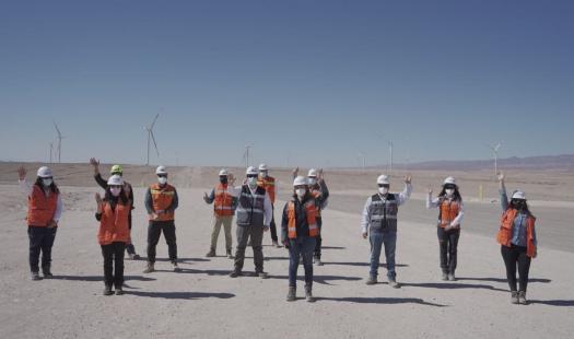 Subsecretario de Energía inspecciona en terreno energización de PE Tchamma