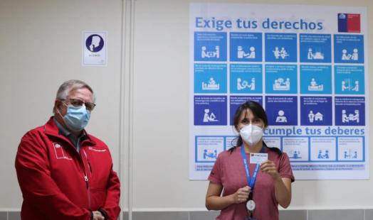 Seremi  coordina la vacunación en Villarrica y Loncoche