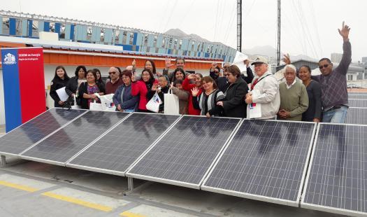 Seremi de Energía recorrió  la región  para invitar a organizaciones sociales a postular al  Fondo de Acceso a la Energía