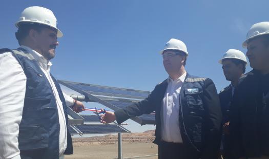 """ENGIE presenta proyecto con paneles fotovoltaicos bifaciales en el parque solar """"El Águila"""" en Arica"""