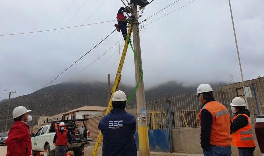 Fiscalizan instrucciones impartidas a distribuidora eléctrica en El Sauce