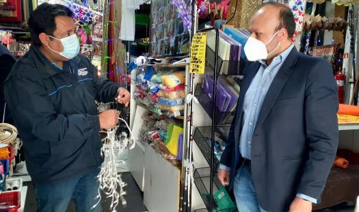 Seremi de Energía y director SEC llaman a comprar y utilizar  guirnaldas navideñas certificadas