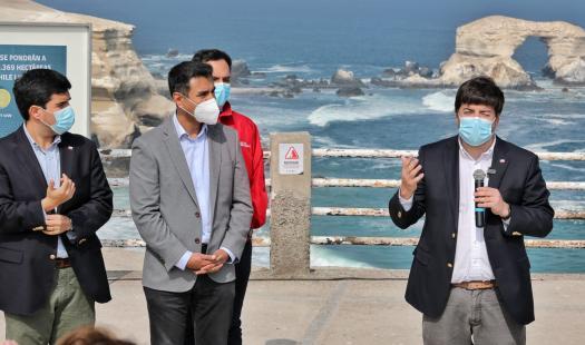 Energía y Bienes Nacionales anuncian más de 20 mil hectáreas fiscales para el desarrollo de energías renovables en Antofagasta