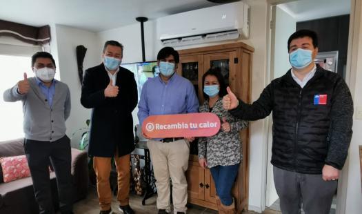 """Subsecretario de Energía lanza Programa """"Recambia Tu Calor"""" en el Biobío"""