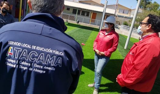 Una inversión superior a los $40 millones permitirá a jardines infantiles de Atacama contar con luz gracias a la radiación solar