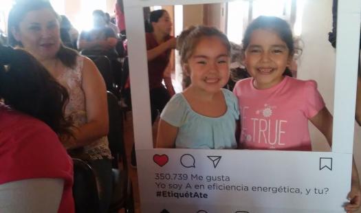 Vecinos de Pelarco se etiquetaron con la Eficiencia Energética