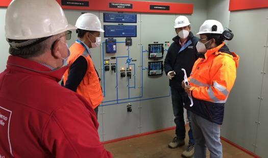 Seremi inspecciona equipo de respaldo en Pucón