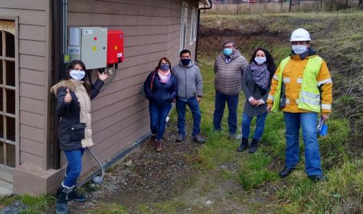 Se inaugura proyecto de paneles fotovoltaicos en hogar de adultos mayores de la Obra Don Guanella