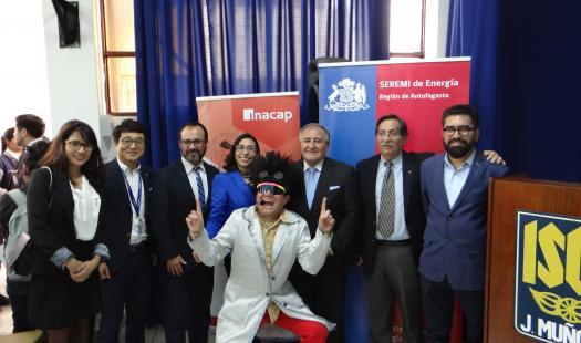 """Concurso audiovisual """"Mi Energía, tu Energía"""" invita a estudiantes de Antofagasta a pensar en el futuro energético del país y la región"""