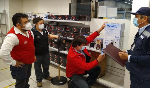 Seremi de Energía de Aysén y SEC fiscalizan la venta de ventiladores en inicio de verano