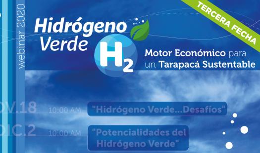 Expertos analizan potencialidades y proyección del Hidrógeno Verde en Tarapacá
