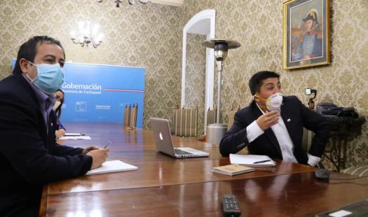 Mesa de Robo de Conductores Eléctricos refuerza medidas para reducir este ilícito en la región de O´Higgins