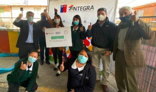 Jardines Infantiles de Fundación Integra cuentan en su totalidad con Sello Verde en la Región de O´Higgins