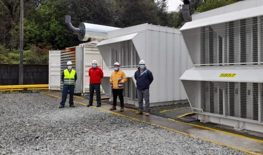 Seremi de Energía junto a la SEC visitan plantas de generación para inspeccionar la calidad del suministro eléctrico en Hornopirén y Cochamó