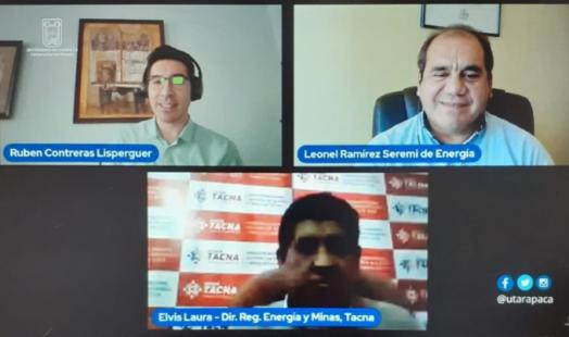 """""""Tecnologías solares aplicadas al ecosistema productivo Tacna – Arica y Parinacota y la producción de Hidrógeno verde para potenciar la sostenibilidad de la macro región fronteriza"""""""