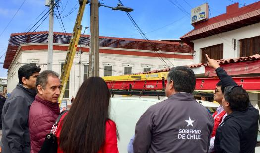 Mesa de Retiro de Cables inicia trabajos en Mercado Centenario de Iquique