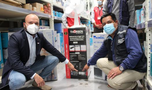SEREMI de Energía y SEC fiscalizan venta de ventiladores y enfriadores de aire