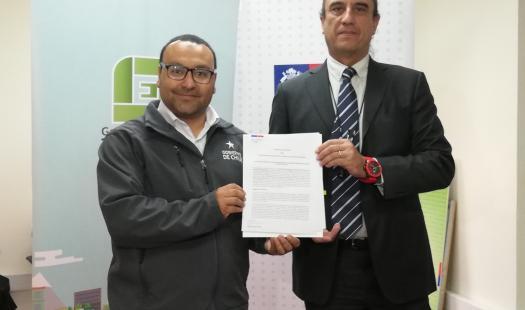 Seremi de Energía firmó convenio con asociación gremial AGEMIRA para apoyar la gestión energética de sus socios