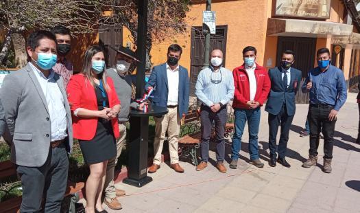 Paihuano inaugura tótems de energía solar para convertirse en destino turístico sustentable