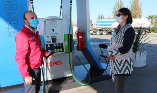 Destacan la implementación de medidas de higiene y seguridad en estaciones de servicio