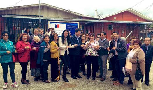 Inauguran sistema solar térmico para generar agua caliente en Junta de Vecinos Calafquén