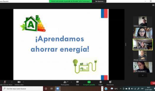 Adultos mayores de la provincia de Osorno aprenden a ahorrar energía en sus hogares