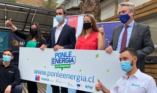 Ministerio de Energía y Unión Europea lanzan concurso Ponle Energía a tu Empresa