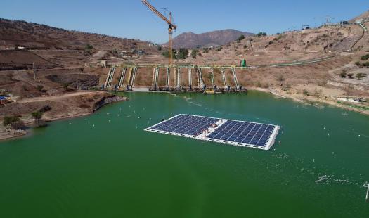En la RM se dio inicio al plan piloto de la 1era planta fotovoltaica construida sobre un relave minero en el mundo