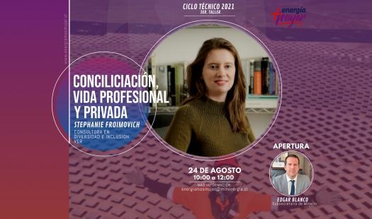 """3er Taller Ciclo Técnico Energía+Mujer: """"Conciliación de la Vida Profesional y Privada"""""""