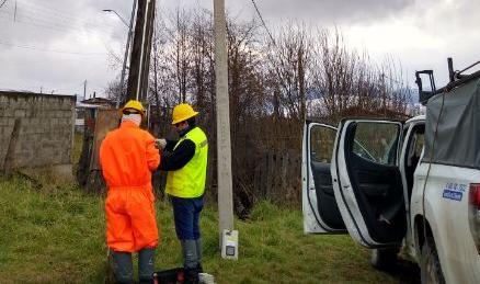Seremi de Energía y SEC Aysén monitorean planes de acción de la empresa eléctrica para entregar un suministro de calidad durante el invierno