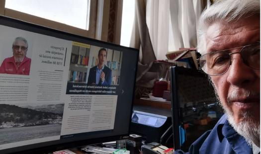 """SEREMI Nolberto Sáez invita a leer la nueva edición de la revista sectorial """"Energía Magallanes"""""""