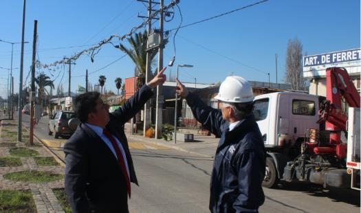 Autoridades de Energía fiscalizan instalaciones eléctricas ante inicio de Festividad de Santa Rosa de Pelequén