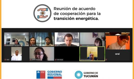 Antofagasta y Tucumán buscan desarrollar proyecto de cooperación en materia de energías renovables e hidrógeno verde