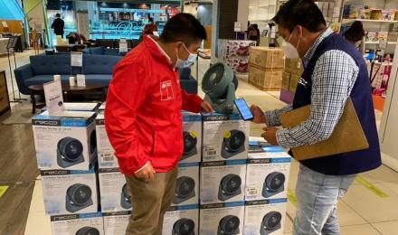 Autoridades de Energía fiscalizan venta de ventiladores, aires acondicionados y enfriadores los que...