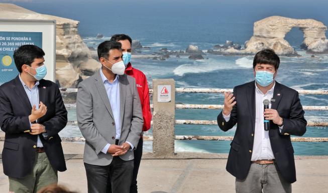 Energía y Bienes Nacionales anuncian más de 20 mil hectáreas fiscales para...