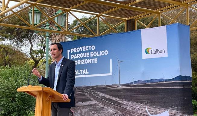 Ministro Jobet encabezó anuncio del parque eólico más grande de América Lat...