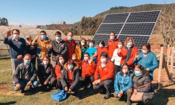 Ministro Bellolio y subsecretario López inauguran anhelado proyecto fotovoltaico de Quitaqui – Tambillo en Valdivia