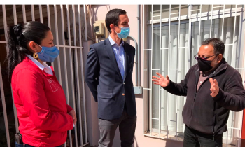 Ministro de Energía lanza en Atacama programa para instalar sistemas solares en viviendas