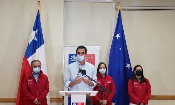 """Ministro Juan Carlos Jobet:  """"Es un día histórico. Desde Magallanes, estaremos produciendo el combustible del futuro para combatir el cambio climático"""""""