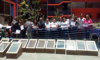 """Gracias a curso """"Ciudadanizando la Energía del Futuro"""" jóvenes de Antofagasta  fueron  capacitados  en energía..."""