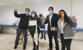 Familias de Concepción reciben kits de eficiencia del Programa Con Buena Energía
