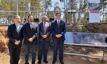 Seremi de Energía participa en inauguración de Planta Fotovoltaica en Universidad Viña del Mar