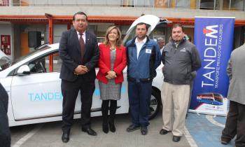Seremi de Energía presente en Muestra de auto 100% Eléctrico en Arica