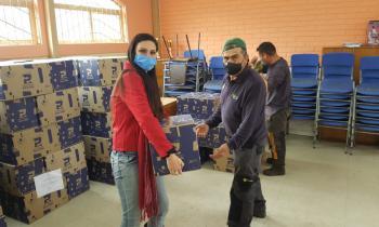 40 mil familias de Marga Marga serán beneficiadas con segunda entrega de Plan Alimentos para Chile